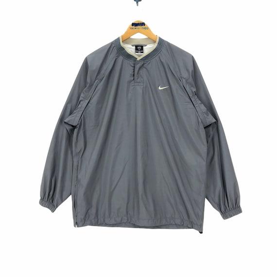 Vintage Nike Golf Swoosh Pullover Raincoat Windbre