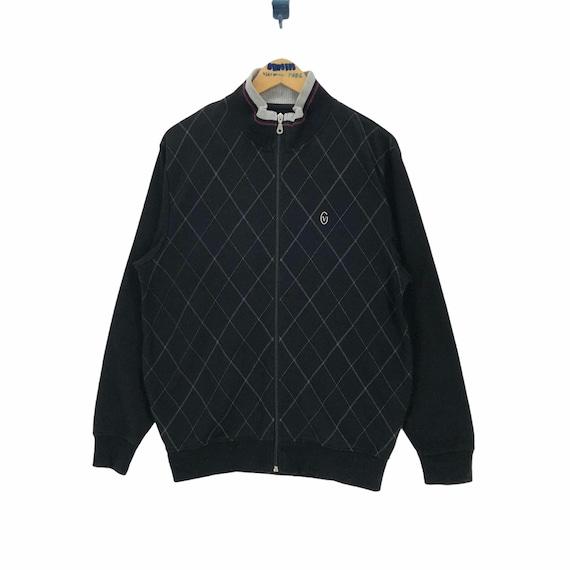 Vintage Gianni Valentino Sweater Track Jacket - image 1