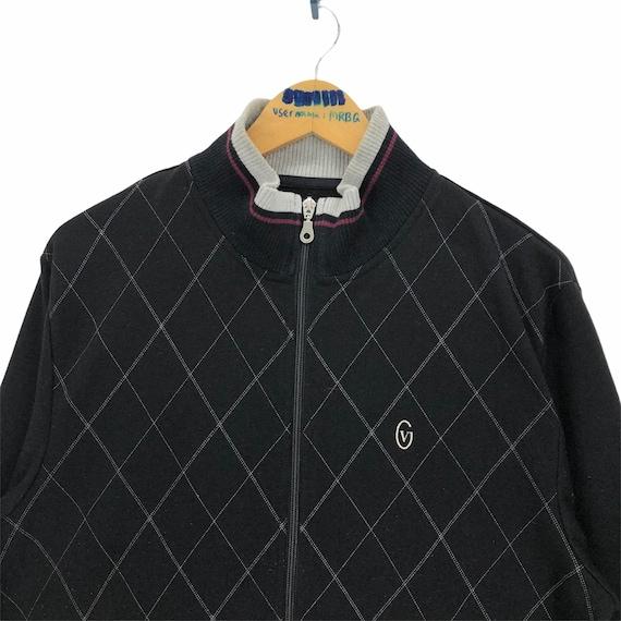 Vintage Gianni Valentino Sweater Track Jacket - image 3