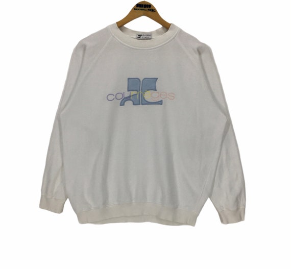 Vintage Courreges Crewneck Sweatshirt