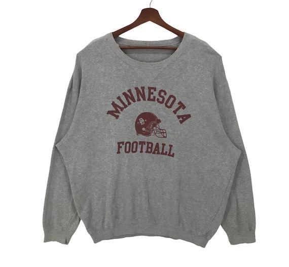 Vintage Minnesota Football Oversized Sweatshirt