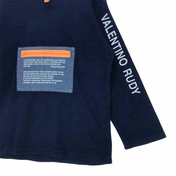 Vintage Valentino Rudy Fleece Sweatshirt - image 3