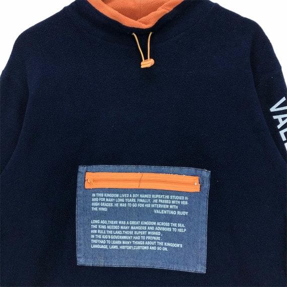 Vintage Valentino Rudy Fleece Sweatshirt - image 8