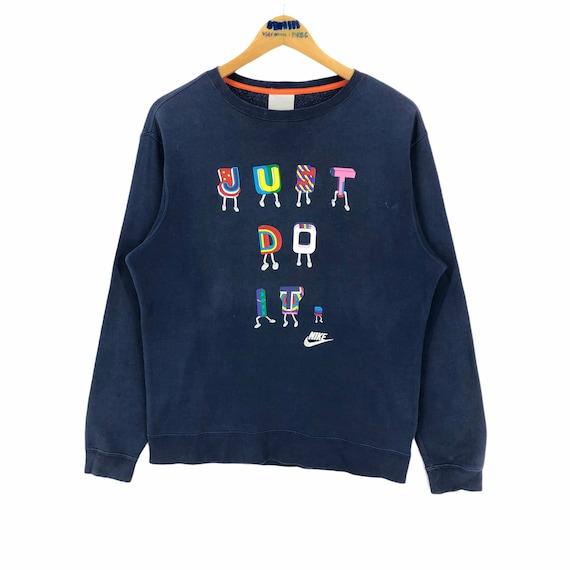 Vintage Nike Swoosh Just Do it Crewneck Sweatshirt
