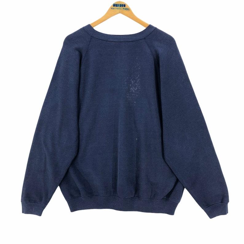 Vintage Chicago Fire Department Hanes Crewneck Sweatshirt Pullover Oversized Size XL