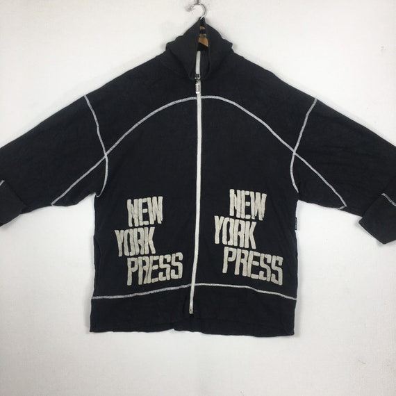 Vintage New York Press Turtleneck Sweatshirt