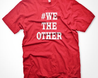 833d395f927 WE THE OTHER Raptors Toronto We the North Basketball Red Mens Ladies T-Shirt