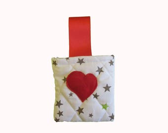 For a heart gift bag