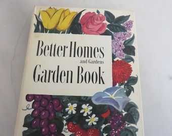 Vintage 1951 Better Homes and Gardening Book