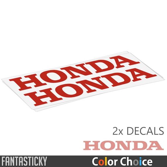 2X HONDA LOGO Sticker Vinyl Decals