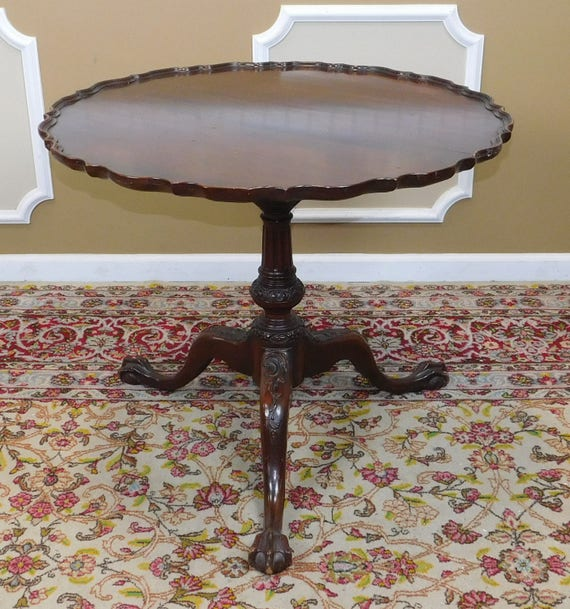 image 0 - Vintage 1940s Mahogany Imperial Furniture Grand Rapids Pie Etsy