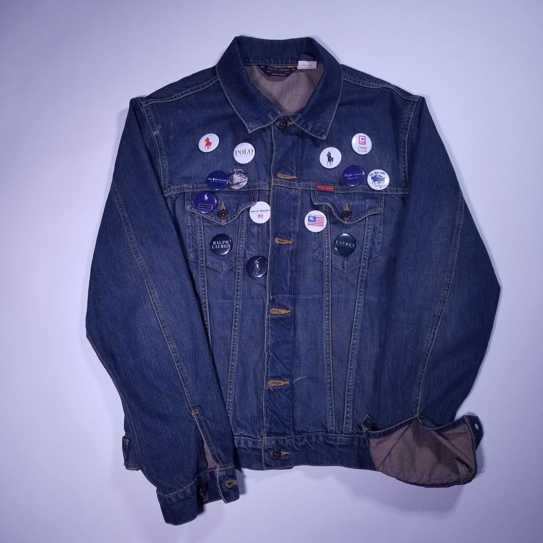Jean Jacket Jeans Exclusive Polo Vintage Ralph With Lauren 6gYI7vybf