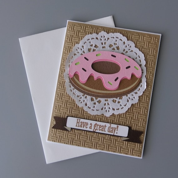 For Her Greeting Handmade Neutral Floral Print Birthday Card