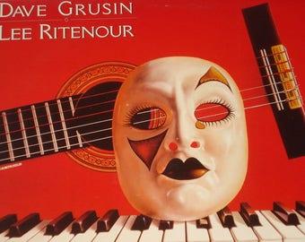 Dave Grusin Lee Ritenour vinyl record album, Harlequin vintage vinyl record, Digital Master Jazz vinyl record