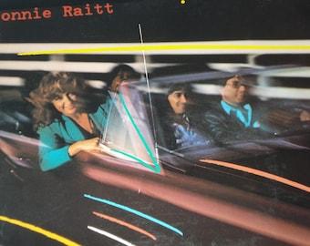 Bonnie Raitt Green Light vinyl record album,  vintage vinyl record, classic rock vinyl
