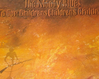 The Moody Blues record album, To Our Childrens Childrens Children vintage vinyl record, classic rock vinyl