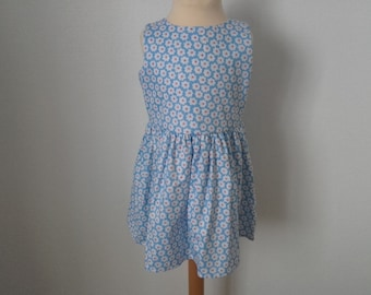 Dress 4 years, white clouds