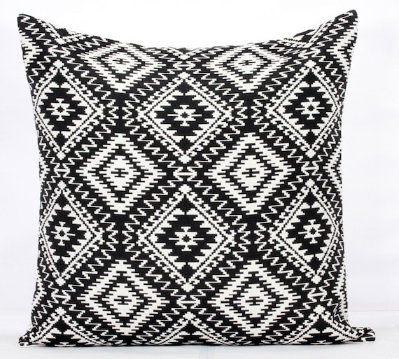 Black And White Pillows Covers 40x40 Cushion Cover 40 X 40 Etsy Simple Etsy Pillow Covers 20x20