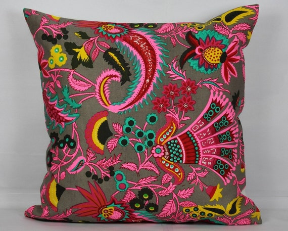 Ethnic Pillows Floral Pillow Cover 40x40 Pillow Cover 40x40 Etsy Best Etsy Pillow Covers 20x20