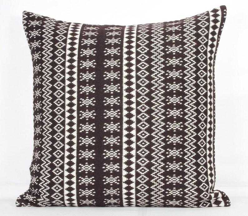 Fine Brown Throw Pillows Decorative Brown Pillow Cover 20X20 Brown White Striped Pillow Cover 24X24 Decorative Pillow Covers 26 X 26 Sofa Pillows Download Free Architecture Designs Grimeyleaguecom