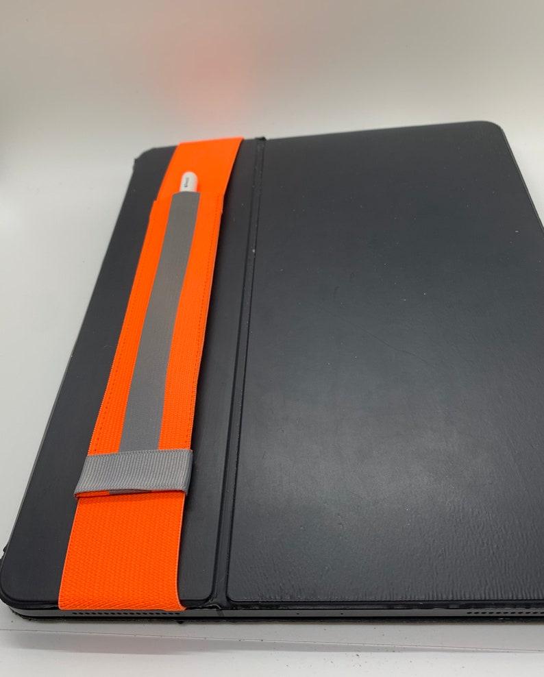 Apple Pencil Case orange and gray image 0