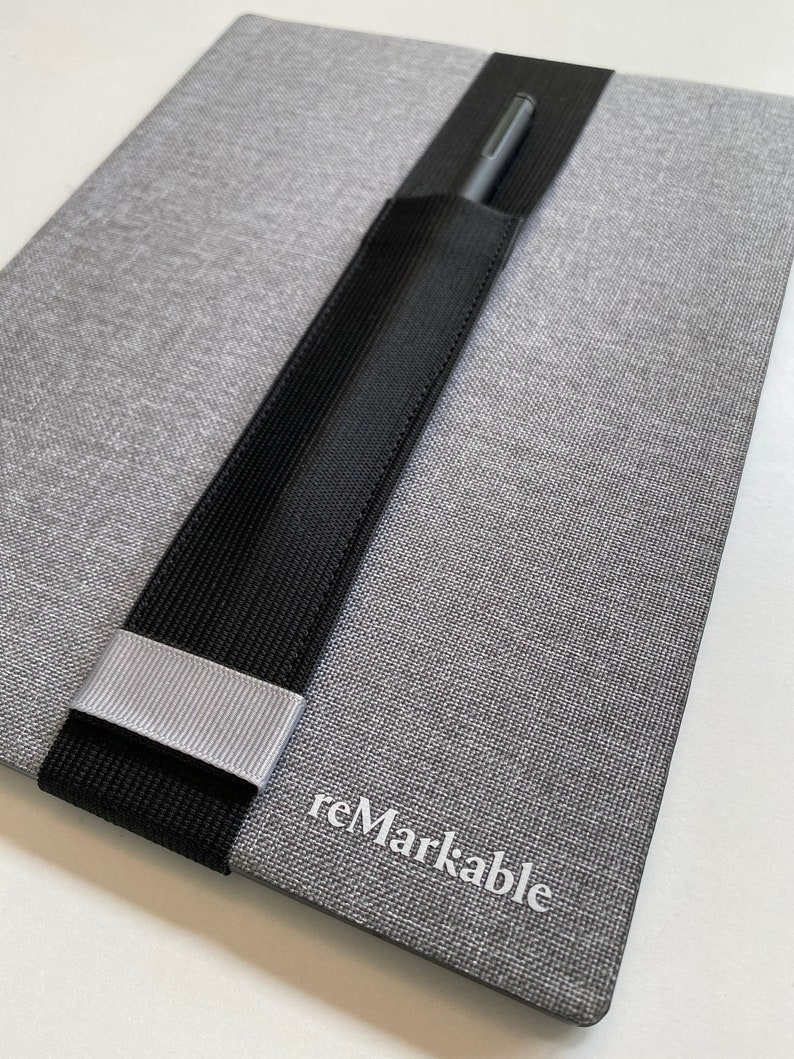 Remarkable BLACK Remarkable 2 Pencil Sleeve for the image 1