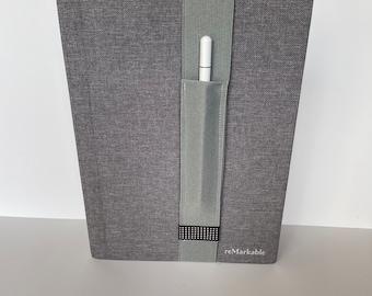 Remarkable GREY Elastic Pencil Holder, Stylus Holder, Pencil holder, Remarkable Pencil Holder