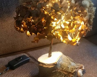 The Hydrangea lamp