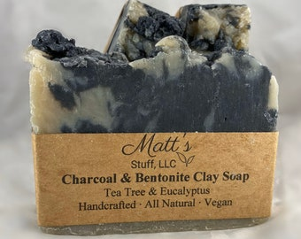 Charcoal and Bentonite Clay Soap