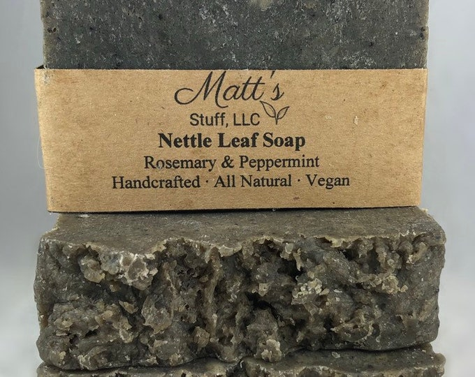 Featured listing image: Nettle Leaf Soap