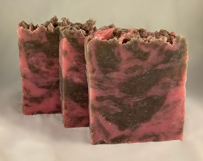Handmade Artisan Soap Raspberry Truffle
