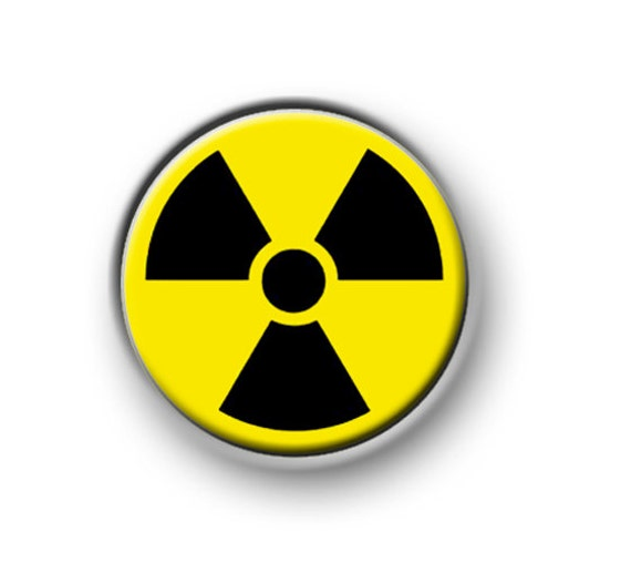 toxic symbol 1 25mm pin button badge funny novelty etsy