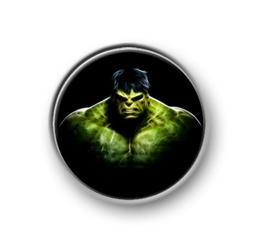 Hulk Marvel Ink Action Boutons De Manchette