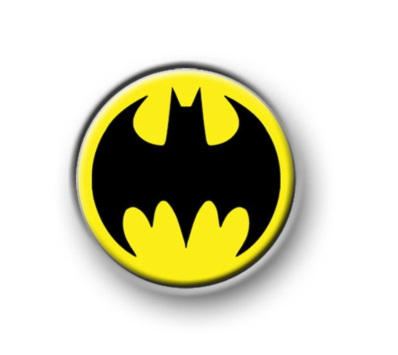 "movie DARK KNIGHT 1"" pin button badge film DC Comics BATMAN 25mm"