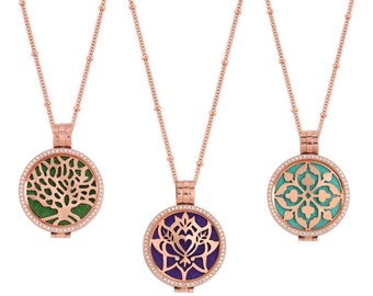 Premium diffuser locket - for essential oils / aromatherapy (3 different designs)