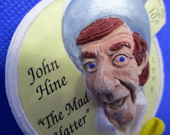 "Signed JOHN HINE ""The Mad Hatter"" Alice In WONDER… - image 4"