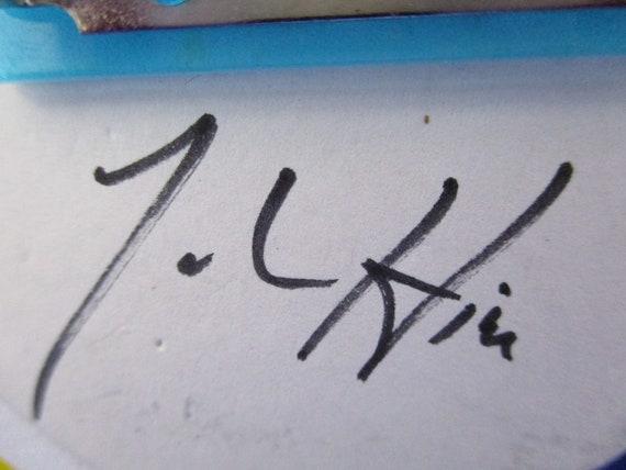 "Signed JOHN HINE ""The Mad Hatter"" Alice In WONDER… - image 10"