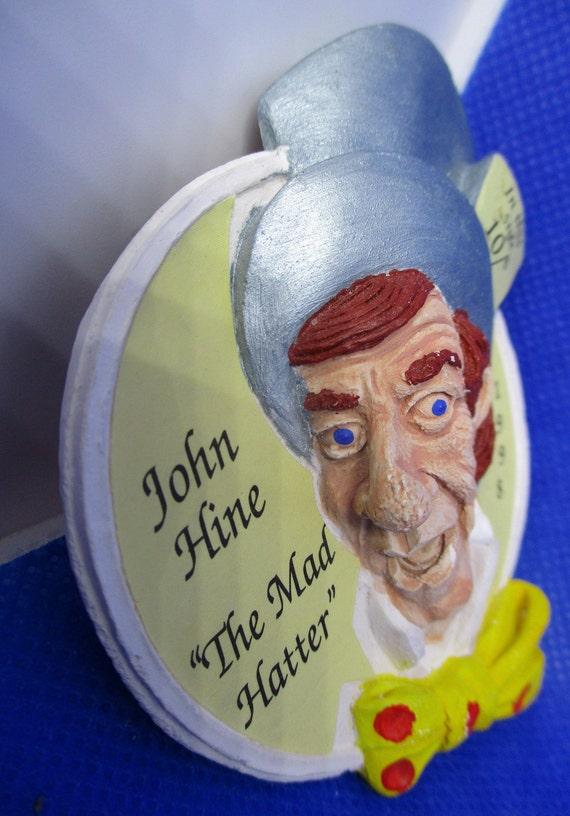 "Signed JOHN HINE ""The Mad Hatter"" Alice In WONDER… - image 3"
