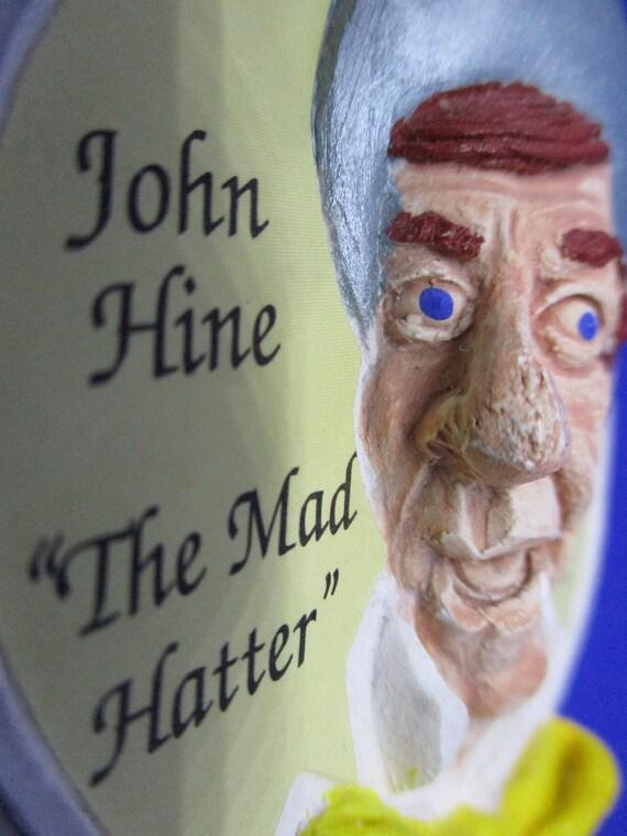 "Signed JOHN HINE ""The Mad Hatter"" Alice In WONDER… - image 6"