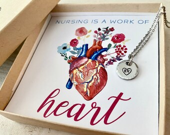 Nurse Heart Necklace