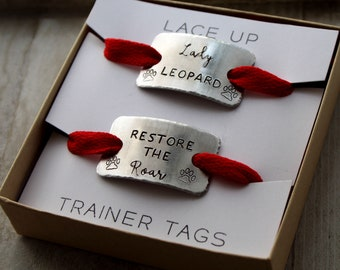 Shoelace Tags