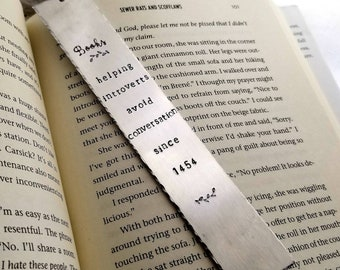 Bookmark - Introverts - Bookworms