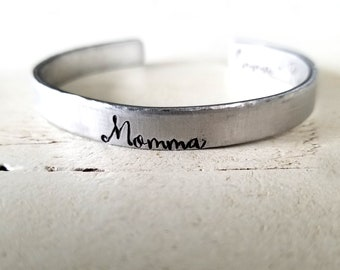 Mama Cuff- Momma Cuff- Mother's Day Gift
