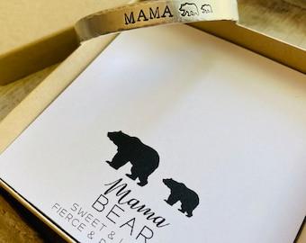 Mama Bear Cuff
