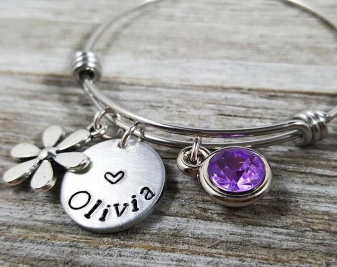 Children's Bracelet- Custom Bangle-