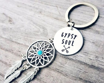 Gypsy Soul Key Chain- Dream-catcher Key chain