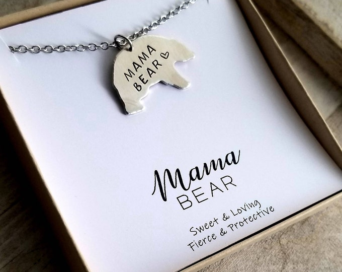 Featured listing image: Mama Bear Necklace