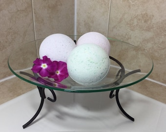 Bath Bomb with Mango Butter and Epsom Salt, 3.5 oz or 7 oz Assorted Scent Bath Bombs, Bath Fizzy, Bath Fizzies,