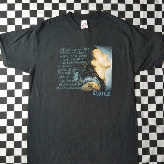 1990s Alanis Morissette T-shirt Size XL