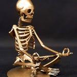 """Mini Zen Skeleton (3.5"""" Tall)"""